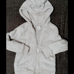 Softy bear w/ hooded ears Carters sweater